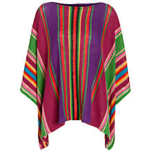 Buy Lauren by Ralph Lauren Striped Boatneck Poncho, Multi Online at johnlewis.com