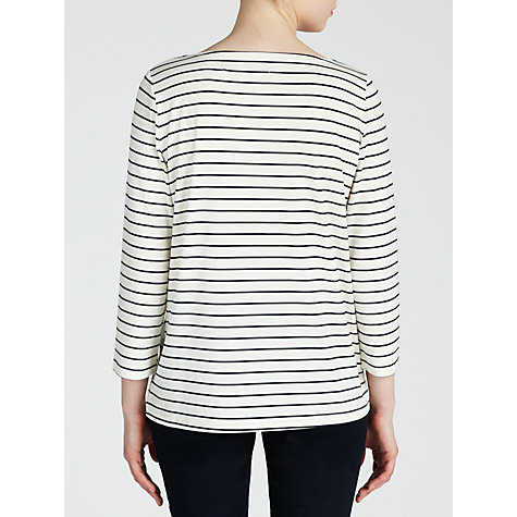 Buy Minimum Striped Adie Top, White Online at johnlewis.com