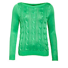 Buy Lauren by Ralph Lauren Labonita Jumper, Cayman Green Online at johnlewis.com