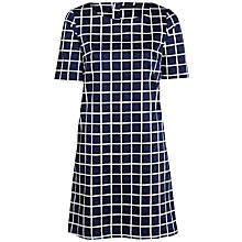 Buy Minimum Aggie Print Dress, Dark Iris Online at johnlewis.com