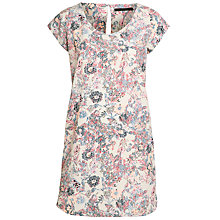 Buy Minimum Floral Viola Dress, Sand Online at johnlewis.com