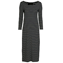 Buy Minimum Freda Maxi Dress, Dark Iris Online at johnlewis.com
