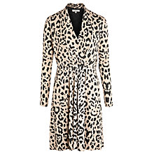 Buy Somerset by Alice Temperley Animal Dress, Camel Online at johnlewis.com