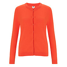 Buy Kin by John Lewis Cotton Cardigan, Grenadine Online at johnlewis.com