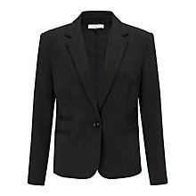 Buy COLLECTION by John Lewis One Button Ponte Jacket, Grey Online at johnlewis.com