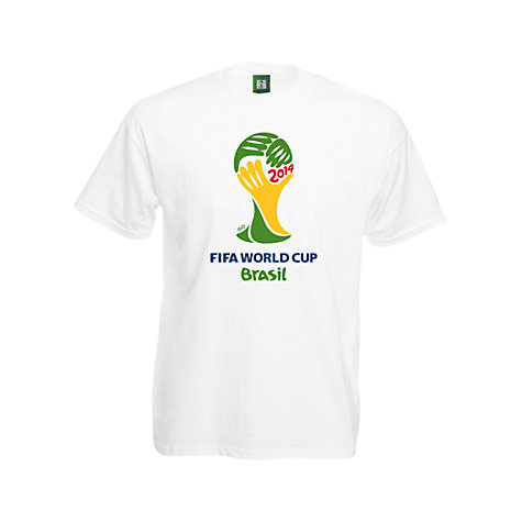 Buy FIFA World Cup 2014 Trophy T-Shirt Online at johnlewis.com