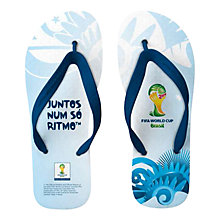 Buy FIFA World Cup 2014 Men's Flip Flops Online at johnlewis.com