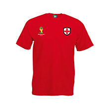 Buy FIFA World Cup 2014 England Graphic T-Shirt Online at johnlewis.com