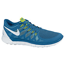 Buy Nike Free 5.0+ Men's Running Shoes, Blue Online at johnlewis.com