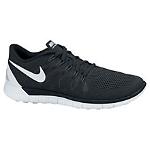 Buy Nike Free 5.0 Running Shoes, Black Online at johnlewis.com