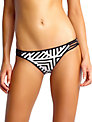 Seafolly Pop Hipster Bikini Bottoms, Black