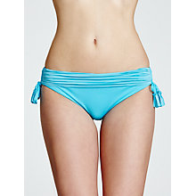 Buy Seafolly Goddess Side Tie Bikini Briefs, Capri Online at johnlewis.com