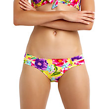 Buy Seafolly Paradiso Mesh Detail Bikini Briefs, Multi Online at johnlewis.com