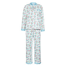 Buy Cath Kidston Kingswood Rose Pyjama Gift Set, Blue Online at johnlewis.com