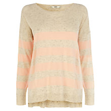 Buy Oasis Neon Stripe Jumper Online at johnlewis.com