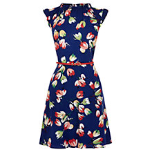 Buy Oasis Tulip Dress, Multi Blue Online at johnlewis.com