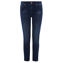 Buy Oasis Isabella Zip Hem Jeans Online at johnlewis.com