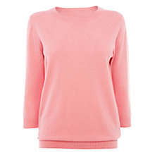 Buy Wishbone Eva Jumper, Pink Online at johnlewis.com