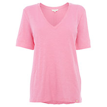 Buy Wishbone Jasmine Jersey T-shirt, Pink Online at johnlewis.com