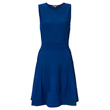 Buy Jigsaw Stitch Detail Dress, Dark Blue Online at johnlewis.com