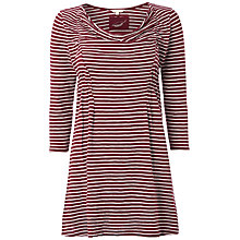 Buy White Stuff Skittles Stripe Top, Beetroot Online at johnlewis.com