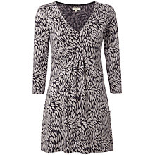 Buy White Stuff Bonnie Jersey Kaftan, Thunder Grey Online at johnlewis.com