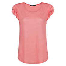 Buy Mango Petal Sleeve T-Shirt Online at johnlewis.com