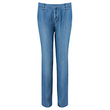 Buy Jigsaw Tencel Chino, Blue Online at johnlewis.com