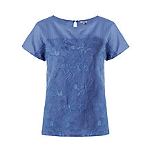 Buy Jigsaw Broderie Anglaise Top Online at johnlewis.com