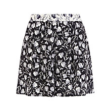 Buy Oasis Pansy Patch Culottes, Multi Natural Online at johnlewis.com