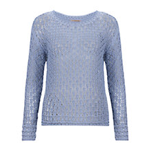 Buy Jigsaw Beehive Stitch Jumper Online at johnlewis.com