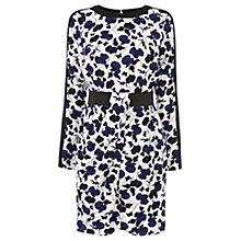 Buy Warehouse Floral Elastic Waist Dress, Multi Online at johnlewis.com