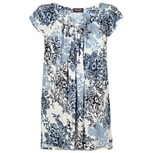 Buy Phase Eight  Fiorenza Top, Grey/Blue Online at johnlewis.com