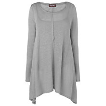Buy Phase Eight Nora Linen Top, Platinum Online at johnlewis.com