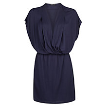 Buy Mango Wrap Neckline Dress Online at johnlewis.com