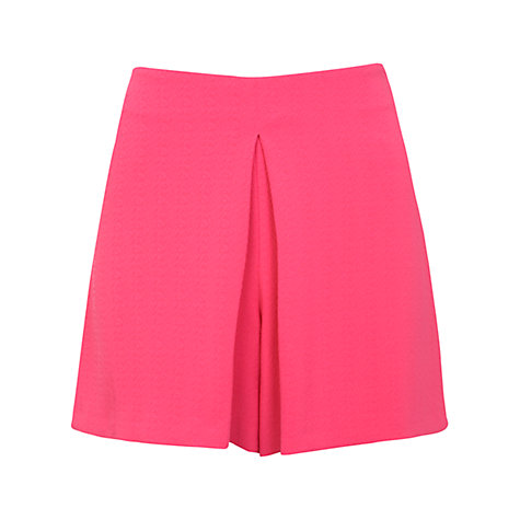 Buy Miss Selfridge Flippy Shorts, Pink Online at johnlewis.com