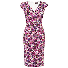 Buy Phase Eight Lisette Dress, Fushia Online at johnlewis.com