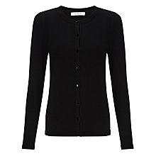 Buy COLLECTION by John Lewis Alice Long Sleeved Cardigan, Black Online at johnlewis.com