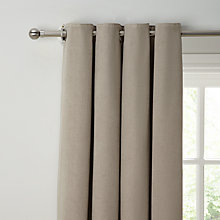 Buy John Lewis Hatch Chenille Lined Pencil Pleat Curtains Online at johnlewis.com