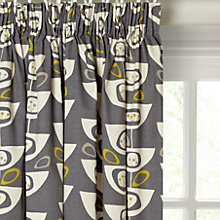 Buy John Lewis Seedheads Lined Pencil Pleat Curtains Online at johnlewis.com