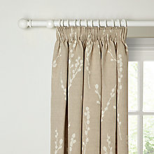Buy John Lewis Croft Collection Catkin Lined Pencil Pleat Curtains Online at johnlewis.com