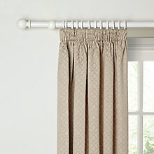 Buy John Lewis Sandringham Lined Pencil Pleat Curtains Online at johnlewis.com