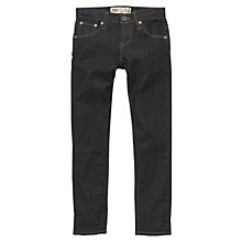 Buy Levi's Boys' 520 Extreme Taper Fit Denim Jeans, Dark Blue Online at johnlewis.com