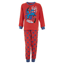 Buy Spider-Man Childrens' Pyjamas, Red Online at johnlewis.com