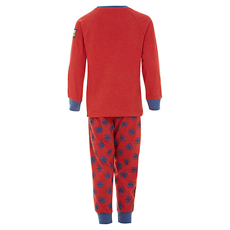 Buy Spiderman Childrens' Pyjamas, Red Online at johnlewis.com