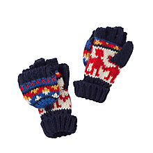 Buy John Lewis Children's Fairisle Top Flip Gloves Online at johnlewis.com
