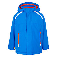 Buy John Lewis Boy Hooded Jacket, Blue Online at johnlewis.com