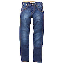 Buy Levi's Boys' 508 Regular Tapered Fit Denim Jeans, Blue Online at johnlewis.com
