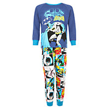 Buy Batman Childrens' Vintage Pyjamas, Blue/Multi Online at johnlewis.com
