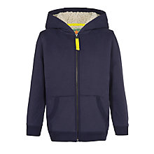 Buy John Lewis Boy Teddy Zip Through Hoodie Online at johnlewis.com